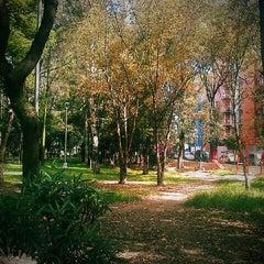 Photo taken at Parque De Paseo De Los Pirules by Howl R. on 10/8/2012