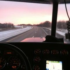 Photo taken at Iowa / Nebraska State Line by Brian S. on 2/2/2013
