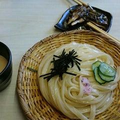 Photo taken at 手打うむどん 始祖 清水屋 by マツキヨ on 7/24/2015