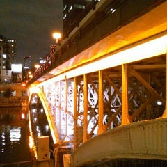 Photo taken at 天神橋 by ei2ei2_feather on 7/1/2015