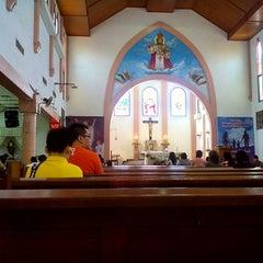 Photo taken at Gereja Katolik Kristus Raja by Donnie I. on 4/12/2015