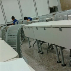 Photo taken at Aulas 4 by Angel D. on 10/26/2012