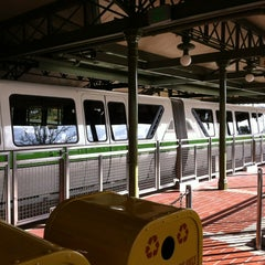 Photo taken at Monorail Green by Sarah F. on 1/7/2013