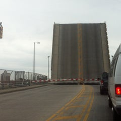 Photo taken at John Byrne-Greenpoint Avenue Bridge by Jessica S. on 5/18/2013