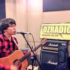 Photo taken at 103.1 FM - OZ Radio Bandung by matthew m. on 12/16/2015