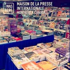 Photo taken at Maison de la Presse Internationale by Dan on 5/12/2013
