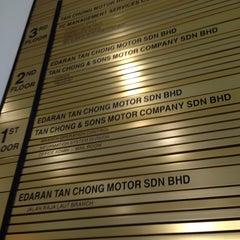 Photo taken at Tan Chong Motor Holdings Bhd. by Hazwani on 11/13/2013