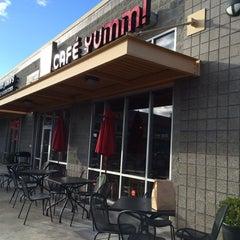 Photo taken at Café Yumm! by Miki M. on 10/1/2014