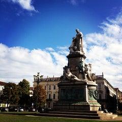 Photo taken at Piazza Carlina by Panda on 10/15/2012