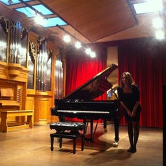 Photo taken at Conservatorio Cantelli by Martina M. on 3/9/2013