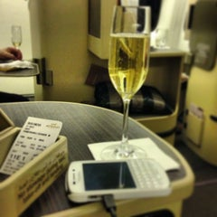 Photo taken at Etihad First Class Lounge by Zoheb H. on 7/17/2013