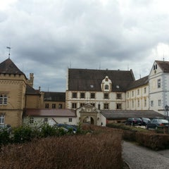 Photo taken at Hotel Schloss Weitenburg by Andreas B. on 3/9/2013