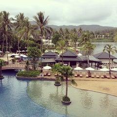 Photo taken at Angsana Laguna Phuket by John Chang Young K. on 7/8/2013