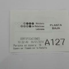 Photo taken at Ministerio de Relaciones Laborales by Ana Maria T. on 1/30/2014