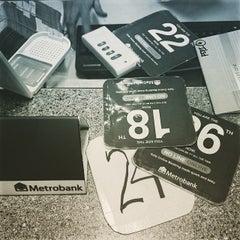 Photo taken at Metrobank by Jason L. on 3/5/2015