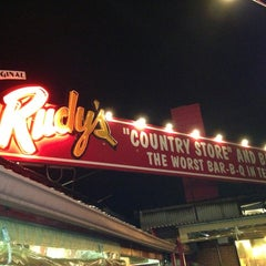 Photo taken at Rudy's Country Store & Bar-B-Q by Todd B. on 2/9/2013