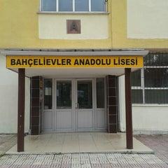 Photo taken at Bahçelievler Anadolu Lisesi by Ümit E. on 6/8/2014