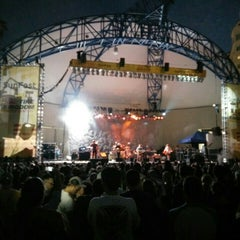 Photo taken at Tire Kingdom Stage @ Sunfest by a Guy on Clematis on 4/30/2015