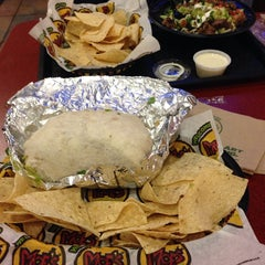 Photo taken at Moe's Southwest Grill by Rafael L. on 1/30/2014