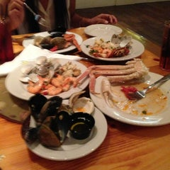 Photo taken at Captain George's Seafood Buffet by Rafael L. on 7/21/2013