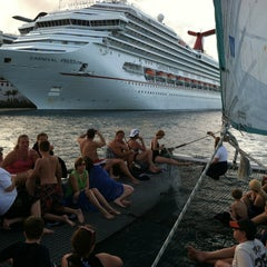Photo taken at Carnival Freedom by Chuck S. on 1/6/2013
