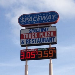 Photo taken at Spaceway Truck Plaza by Donna C. on 12/8/2012