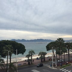 Photo taken at Cannes by H.Dogan G. on 4/22/2015