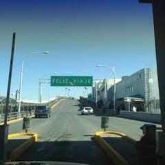 Photo taken at Puente Internacional Santa Fe (Paso Del Norte) by Eduardo O. on 5/19/2013