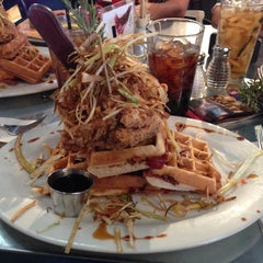 Photo taken at Hash House A Go Go by G W. on 4/30/2013