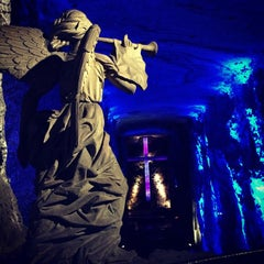 Photo taken at Catedral de Sal de Zipaquirá by Felipe F. on 11/1/2012