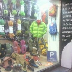 Photo taken at Lecomte - Alpinisme et randonnée by John W. on 11/21/2012