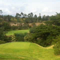 Photo taken at Arrayanes Country Club by Luis G. on 1/12/2013