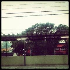 Photo taken at Estação Poá (CPTM) by Alesson N. on 2/2/2013
