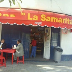 Photo taken at La Samaritana by Jessica L. on 10/26/2012