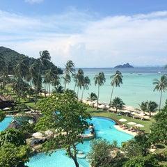 Photo taken at Phi Phi Island Village by MLTM G. on 9/29/2014