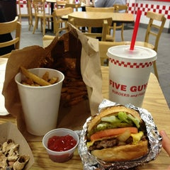 Photo taken at Five Guys by Jinsung C. on 2/18/2013