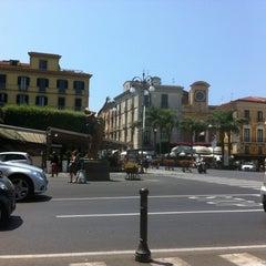Photo taken at Piazza Tasso by Aki K. on 7/17/2013