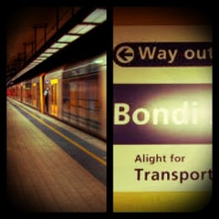 Photo taken at Bondi Junction Station by ndreart on 1/8/2013