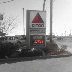 Photo taken at Citgo by Sandy F. on 11/2/2012