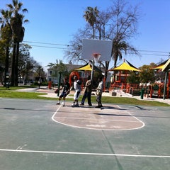 Photo taken at Benny H. Potter West Adams Avenues Memorial Park by Theron X. on 2/13/2013