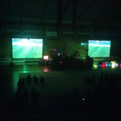 Photo taken at GOR C-Tra Arena by Aiman_ A. on 5/16/2015