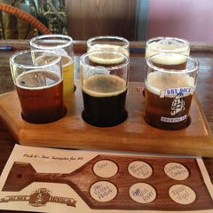 Photo taken at Dry Dock Brewing Company - South Dock by Kacee C. on 7/3/2013