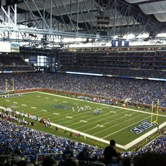 Photo taken at Ford Field by Bianca R. on 9/30/2012