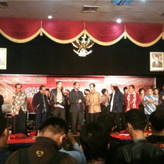 Photo taken at Auditorium PTIK by Andri B. on 11/30/2012