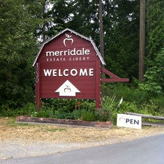 Photo taken at Merridale Estate Cidery by Rebecca C. on 7/17/2013