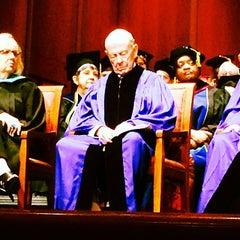 Photo taken at Houston Baptist University by Marina K. on 5/17/2014