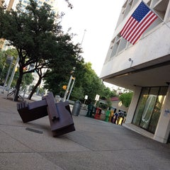 Photo taken at Faulk Central Library, Austin Public Library by Mariana R. on 8/6/2014