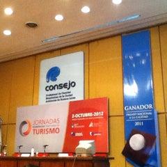 Photo taken at Consejo Profesional de Ciencias Económicas de la Ciudad Autónoma de Buenos Aires by Juan S. on 10/2/2012