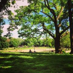 Photo taken at Fort Greene Park by Parker on 5/26/2013