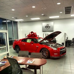 Photo taken at North Point Nissan by Juan A. on 1/20/2013